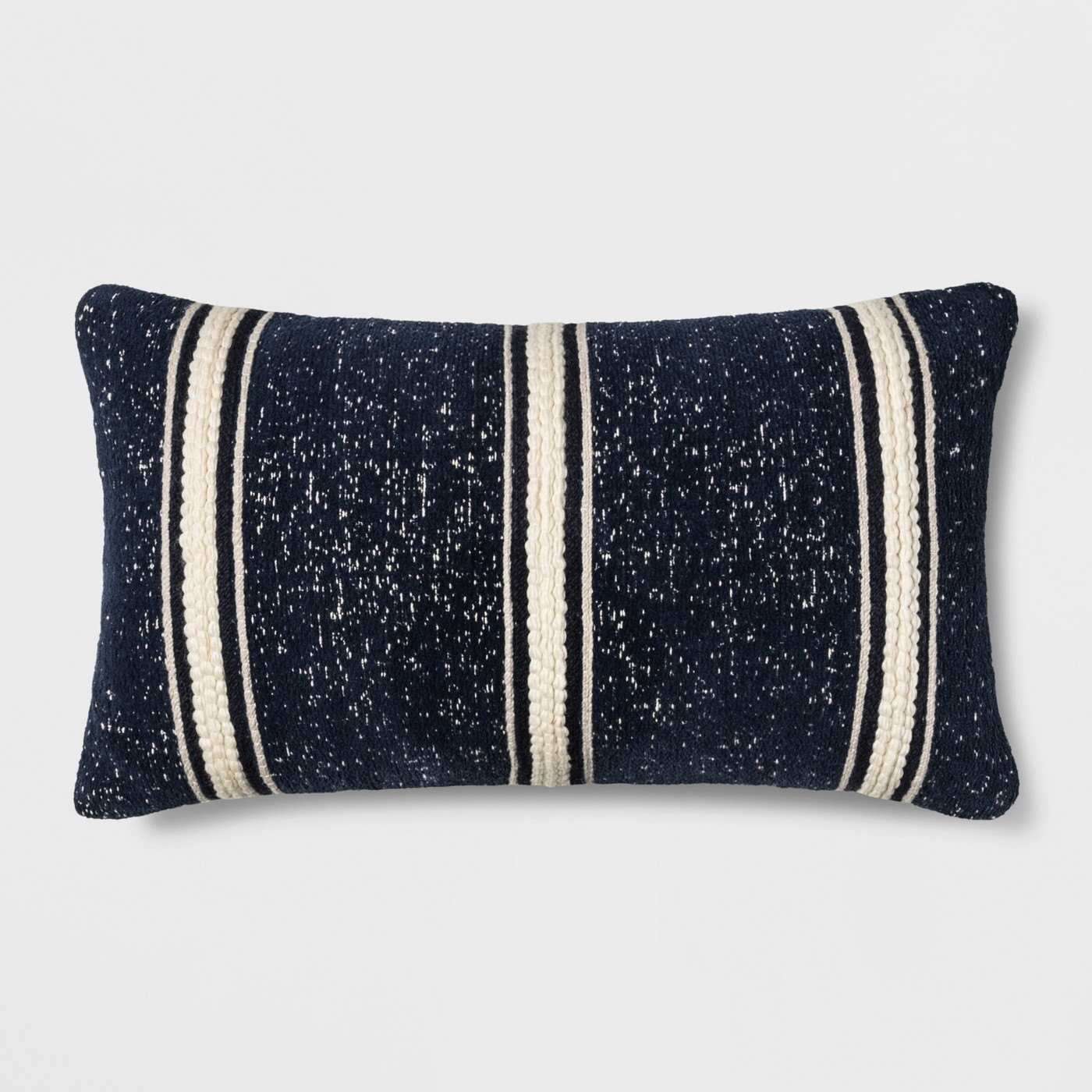 Striped fall pillow for autumn farmhouse living room
