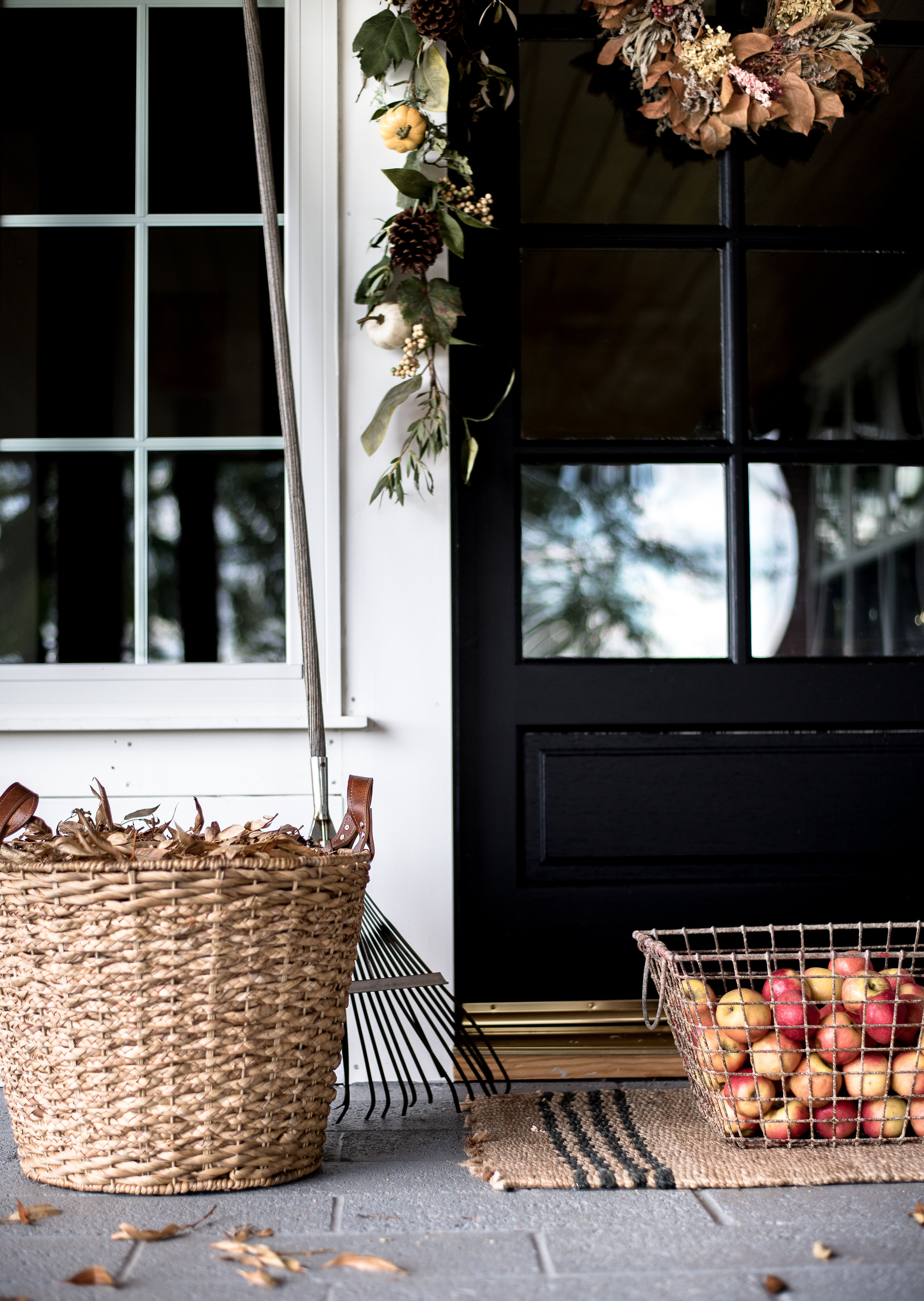 - + FIVE FALL PORCH DECORATING IDEAS