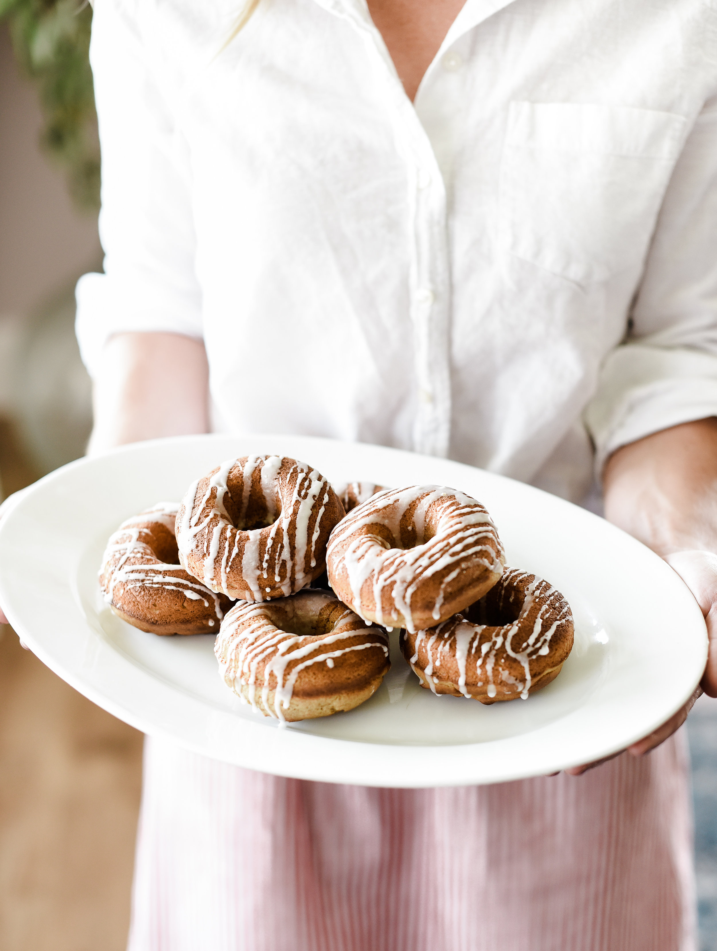 Baked Pumpkin Donuts from boxwoodavenue.com