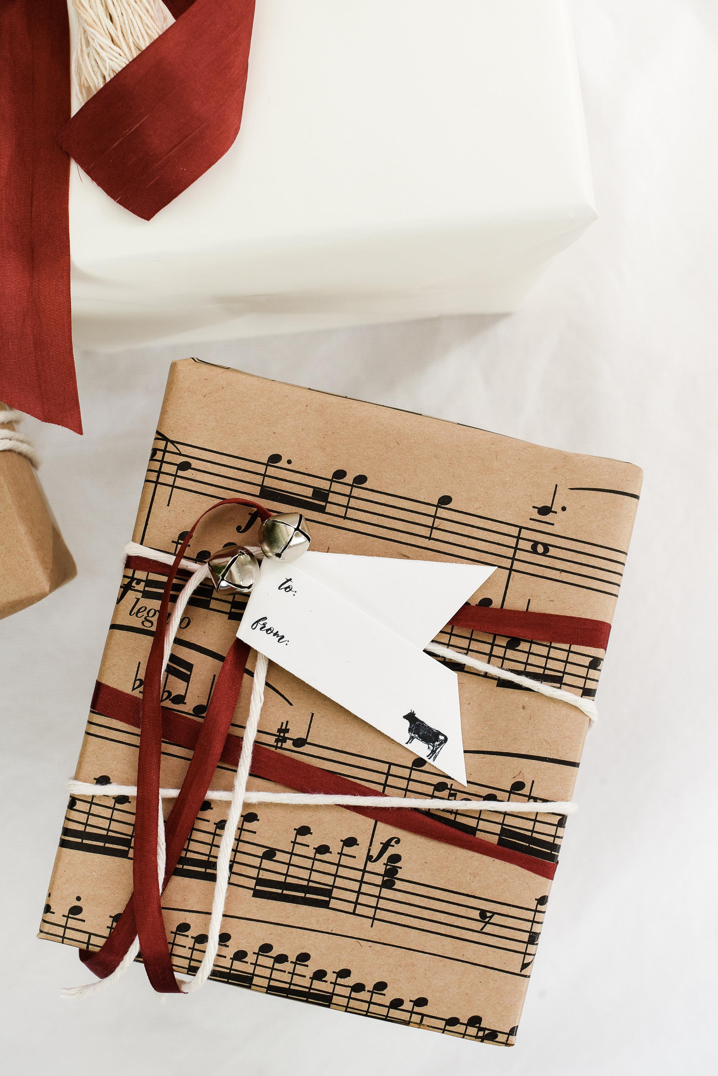 Free printable gift tags for Christmas wrapping | boxwoodavenue.com #christmasgiftwrap #christmaswrappingideas