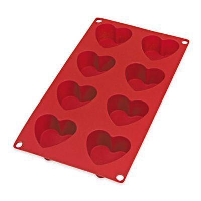Valentine's Day heart shaped kitchen mold