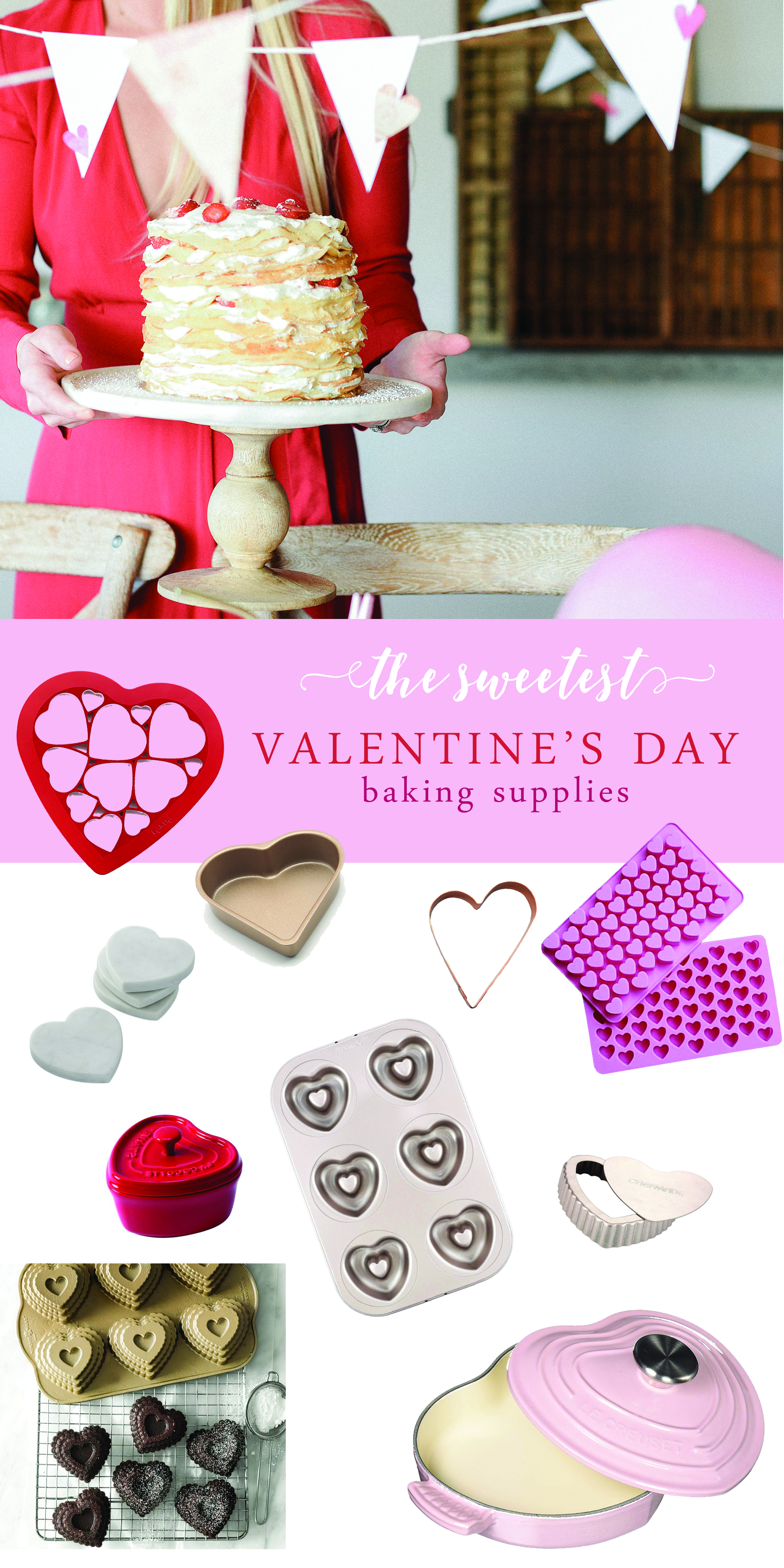 Valentine's Day baking ideas and supplies best amazon finds for Valentine's Day | #valentinesday #valentinesdaybaking