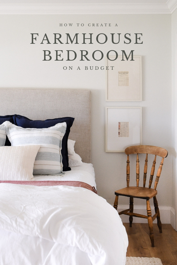 Farmhouse Bedroom Design | Tour our Guest Bedroom — Boxwood Avenue