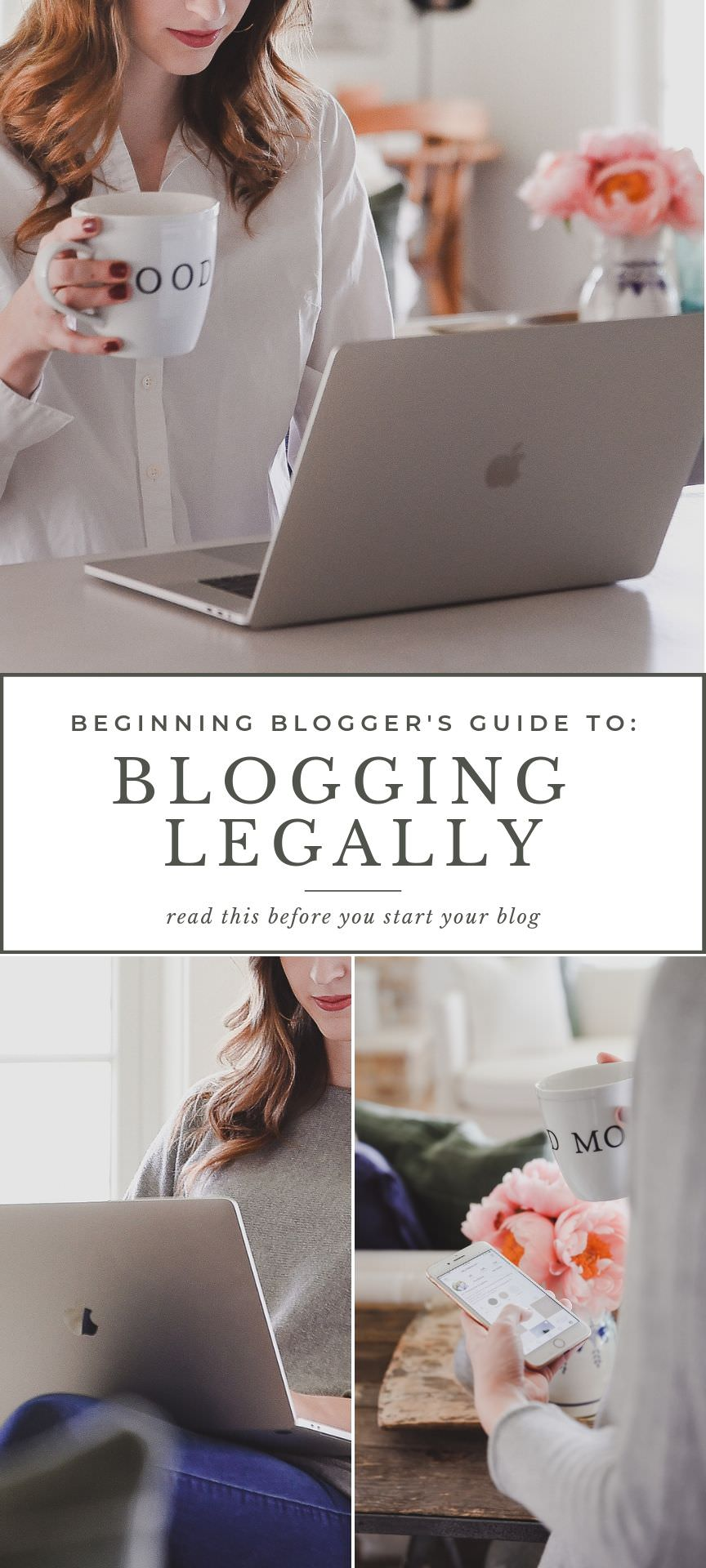 What you need on your website to make sure your blog is legal! #blogging #smallbusiness #entrepreneur  #boxwoodavenue