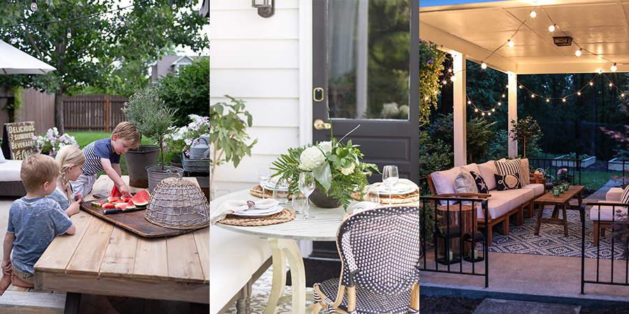 Summer Porch & Flower Pot Ideas
