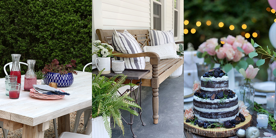 Summer Porch and Flower Pot Ideas from Home Decor Bloggers