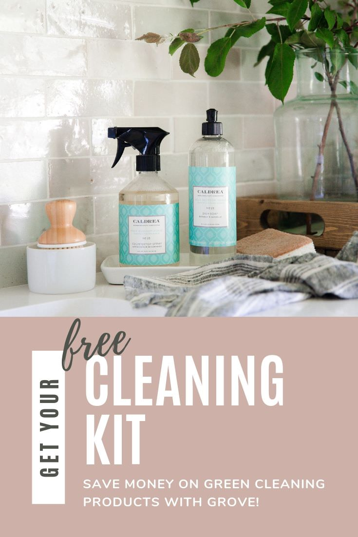 Get a free cleaning kit when you make your first $20 purchase at Grove collaborative! #greencleaning #naturalliving #boxwoodavenue #partner