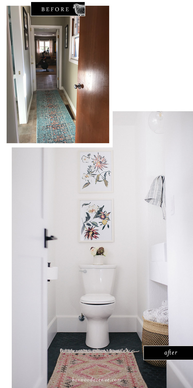 Small Bathroom Remodel.Small Bathroom Remodel We Re Talking Teeny Tiny Boxwood Avenue