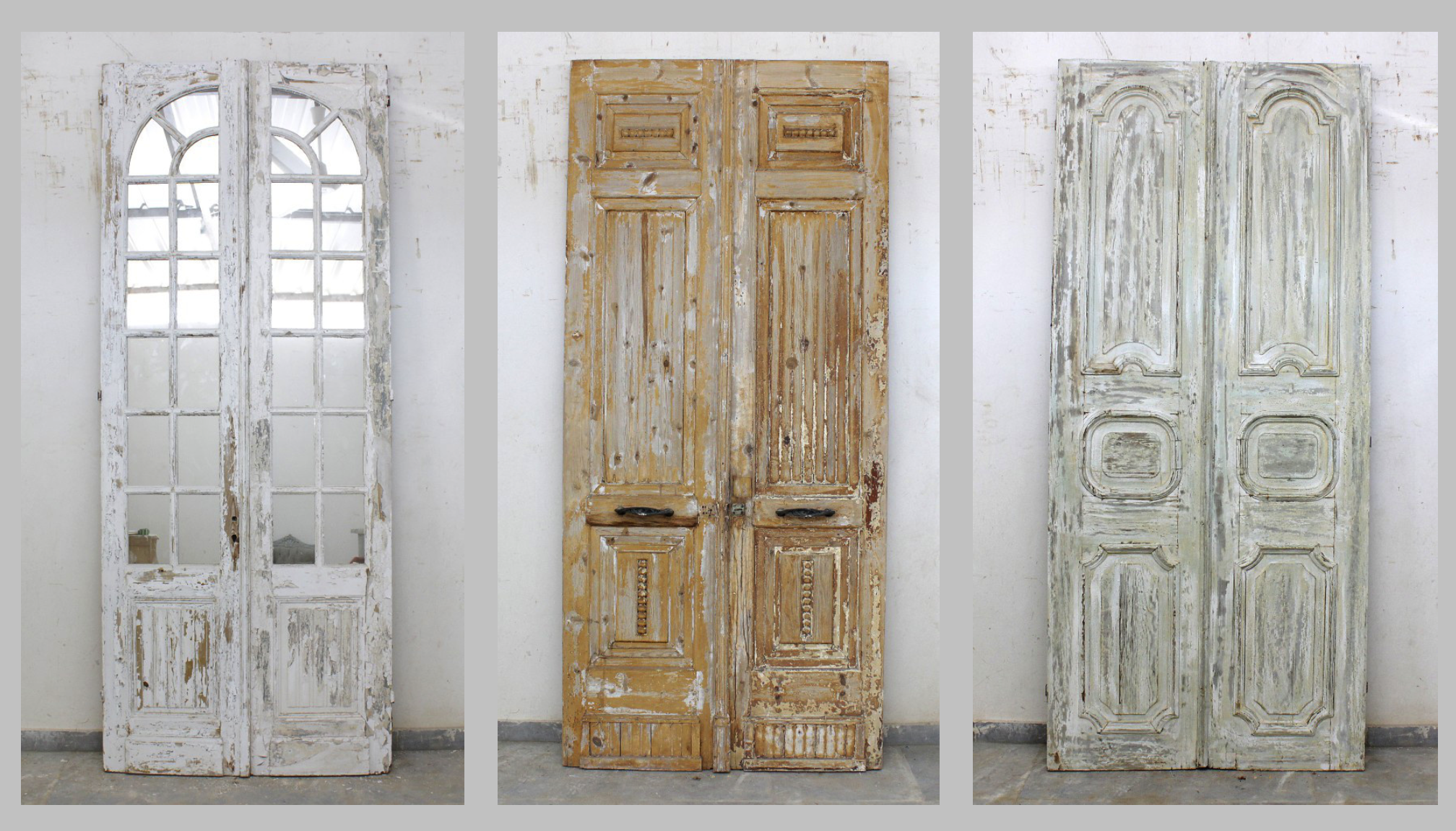 Vintage french doors imported from Europe