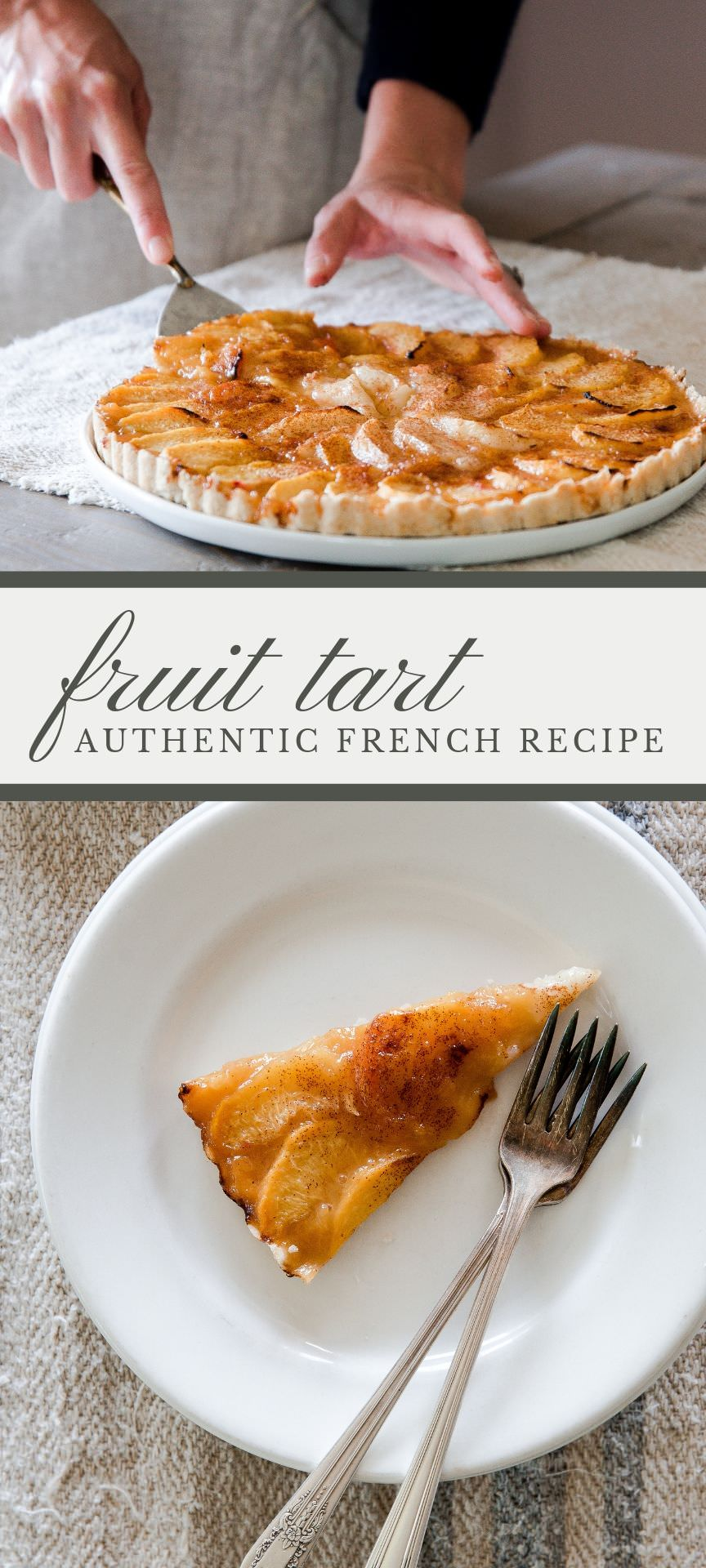 An authentic French tart recipe that can be made with any type of fruit or jelly! This is incredibly easy! #fruittart #tartrecipe #frenchdessert #brunchideas