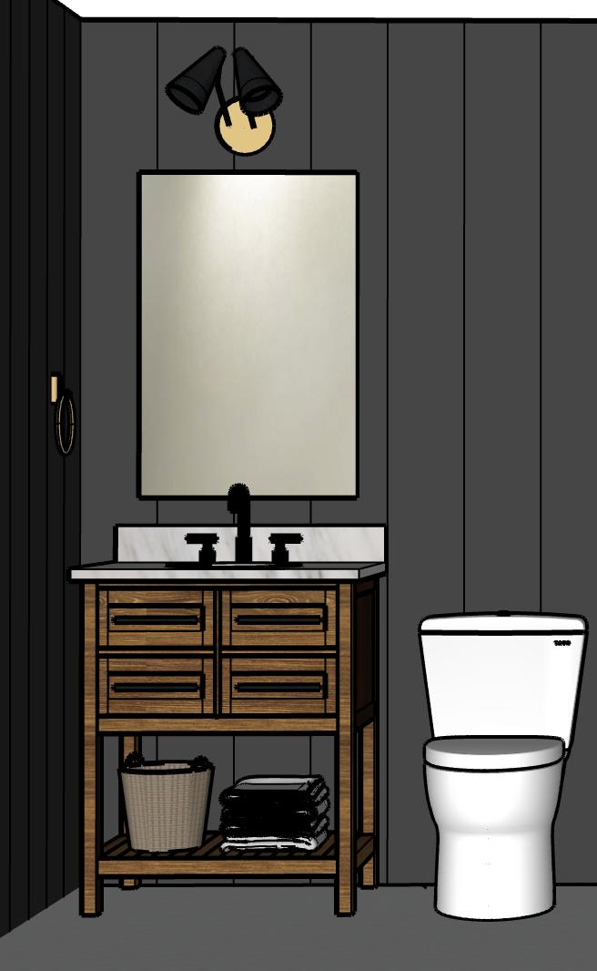 Black bathroom design inspiration #blackbathroom #designinspiration