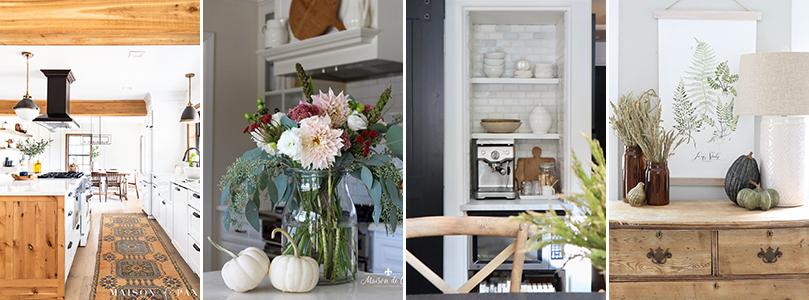 pretty fall kitchen decor ideas