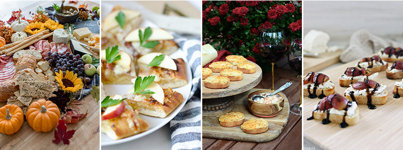 Easy party appetizers for holiday entertaining