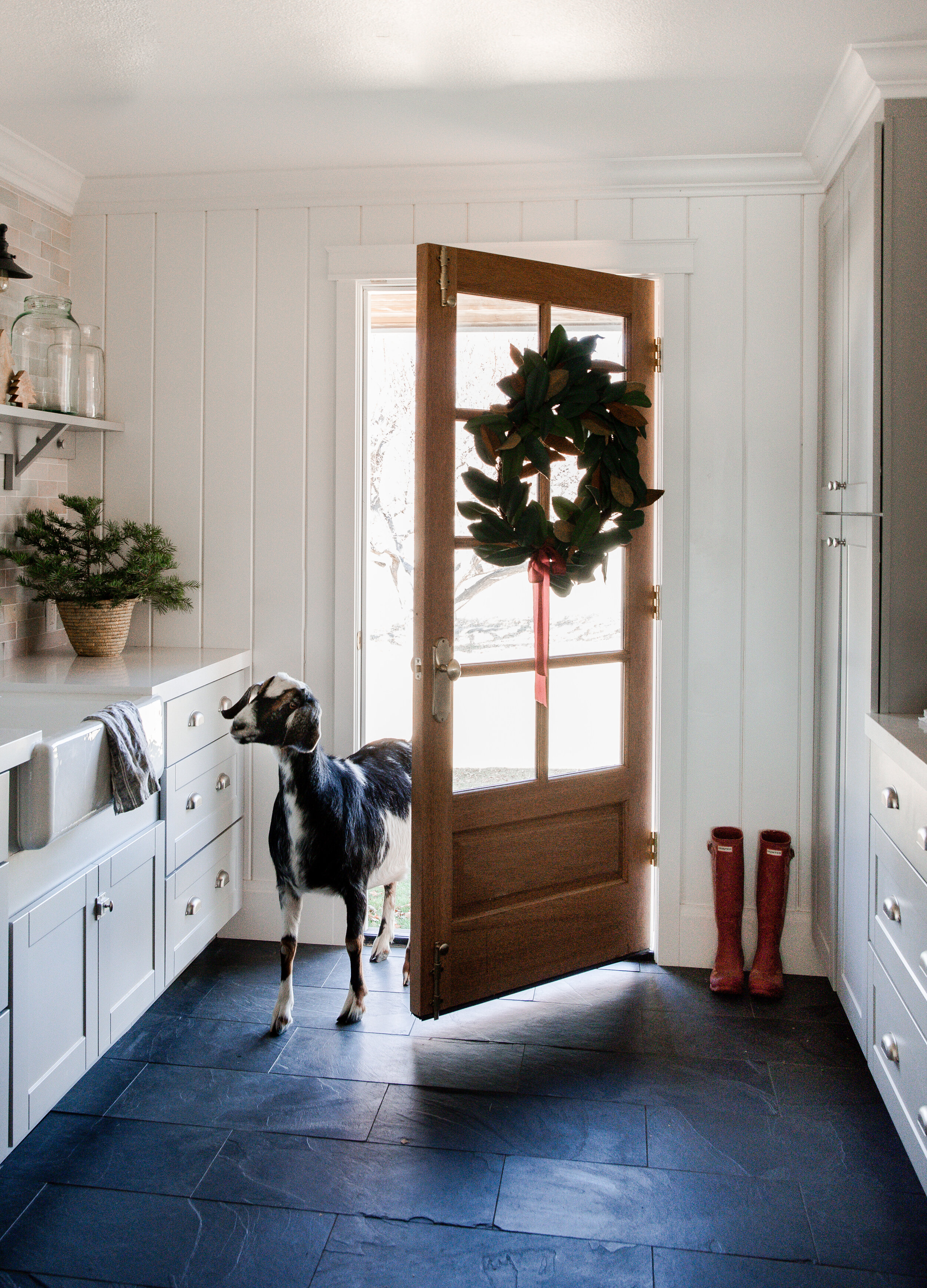 Come on in to our farmhouse all dressed up for Christmas! I hope you find some inspiration while you're here!