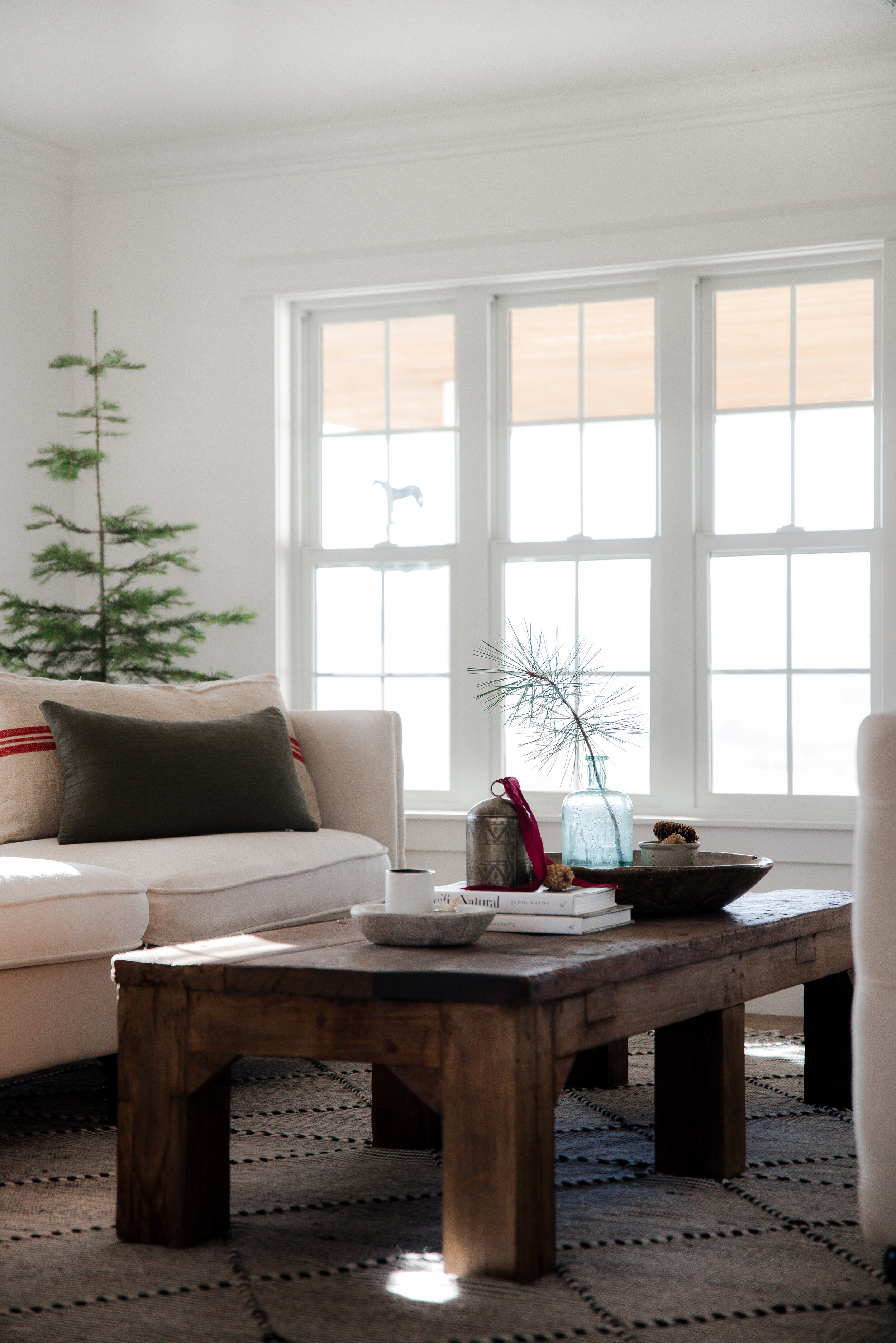 Get inspired to add little Christmas touches as the holidays near! These simple decorating ideas will help you dress up your living room!