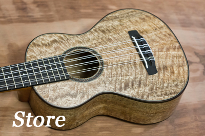See what's available now, learn about custom ukuleles, and more...