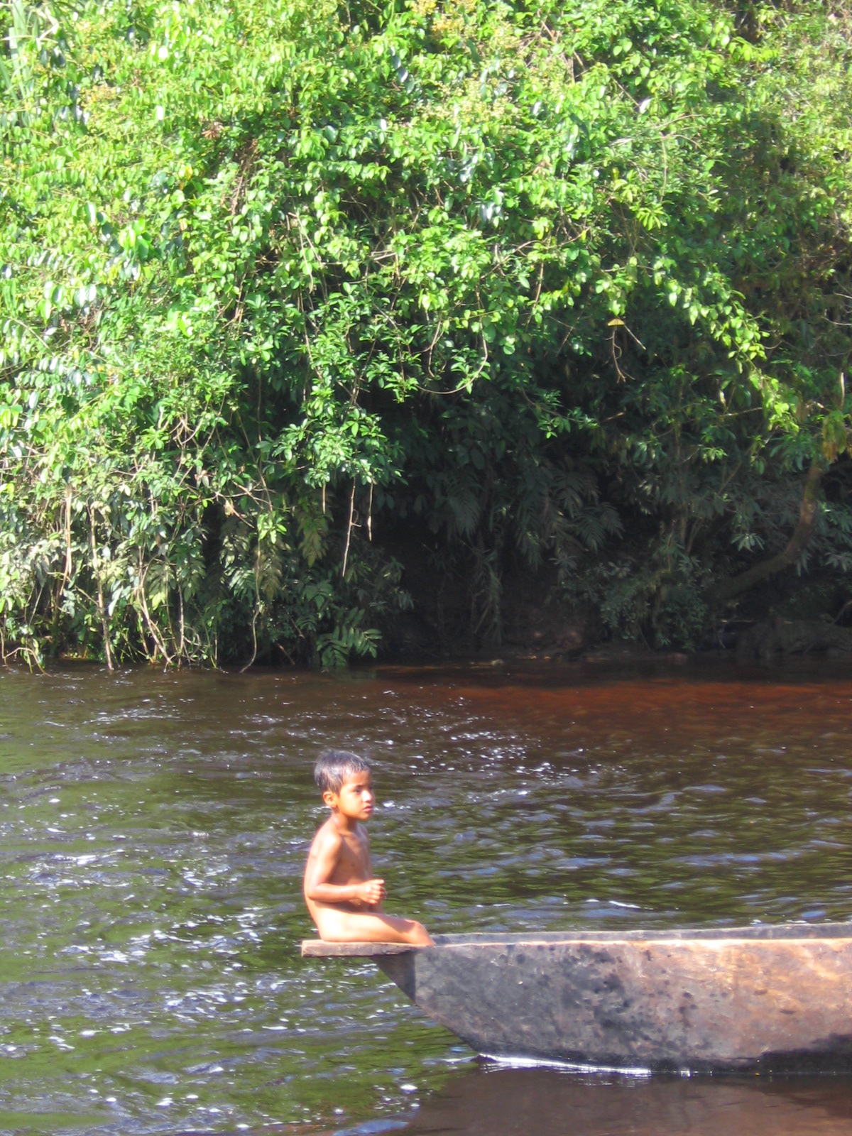 Often we would boat hours up the rivers to get to very remote villages.