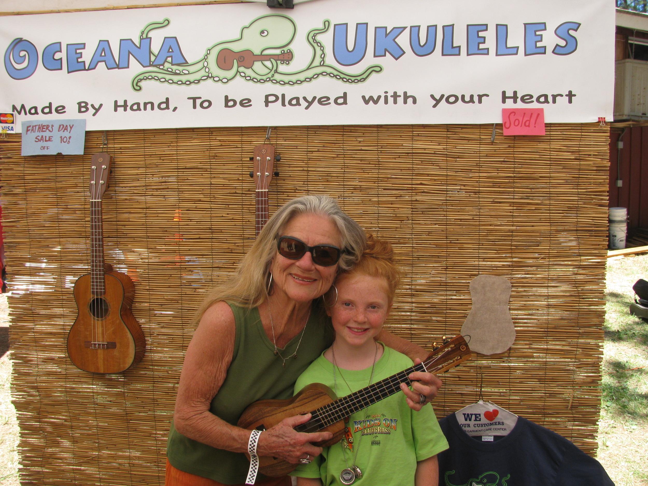 La Wanda Welcome to the Oceana Ukulele Family