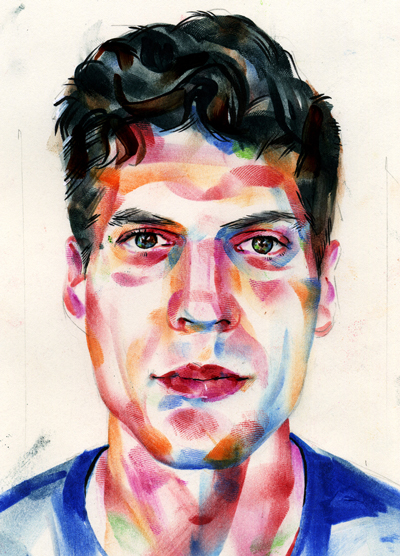 Finished Portrait of Jon.