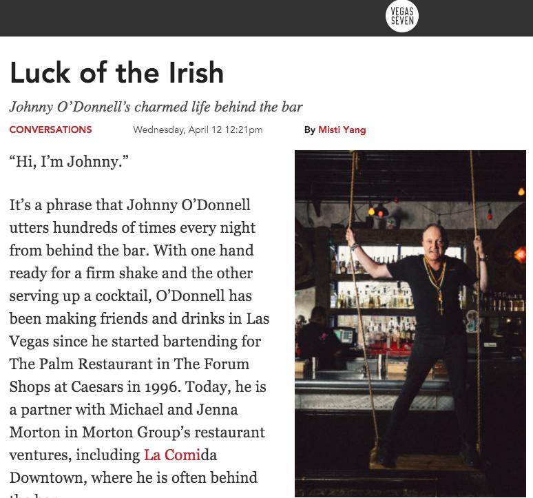Luck of the Irish - Vegas Seven, April 12, 2017