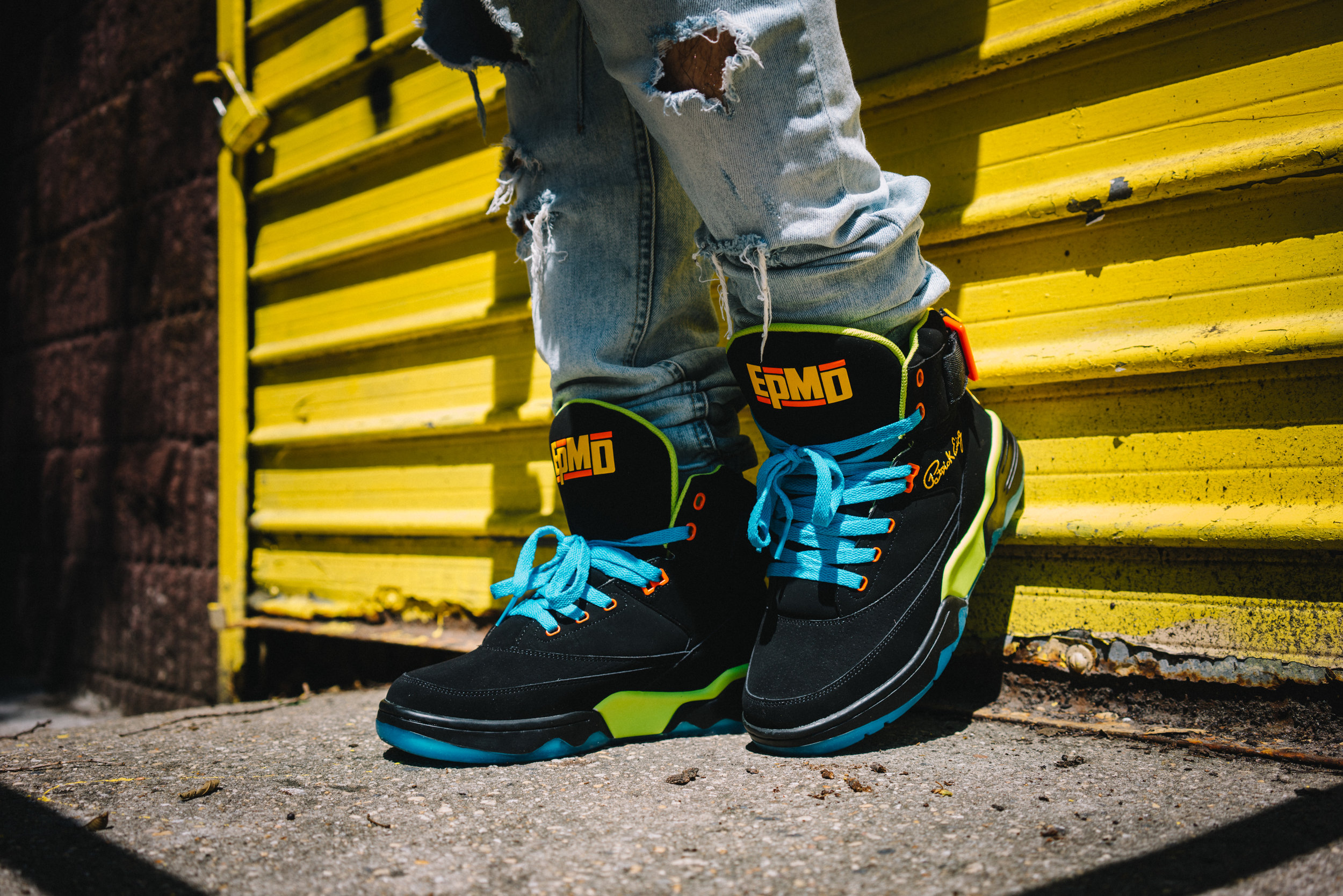 SMG for EPMD under exclusive license to Ewing Athletics.
