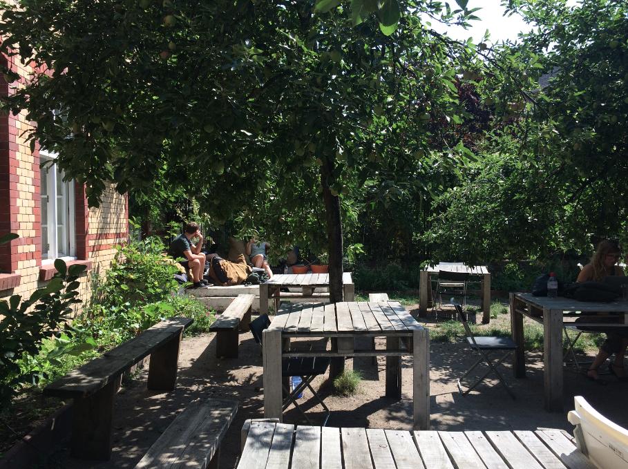Agora的苹果树院子