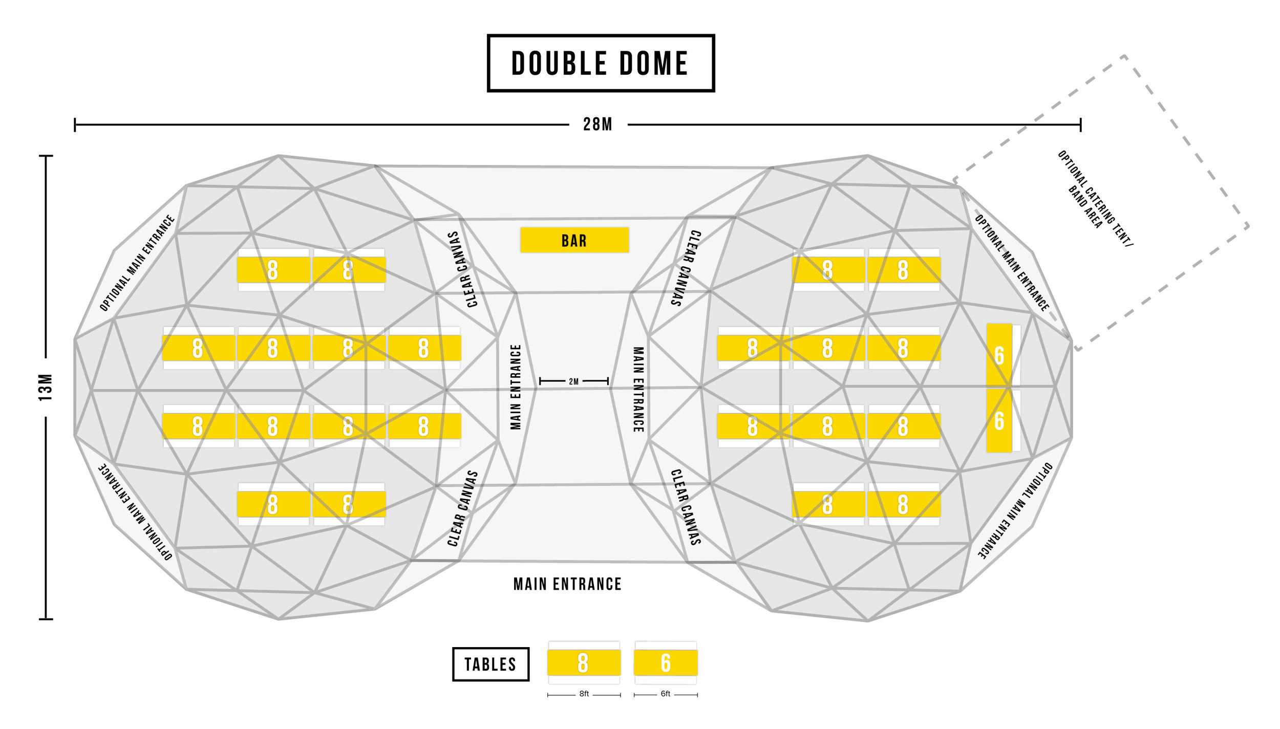 double dome floorplan