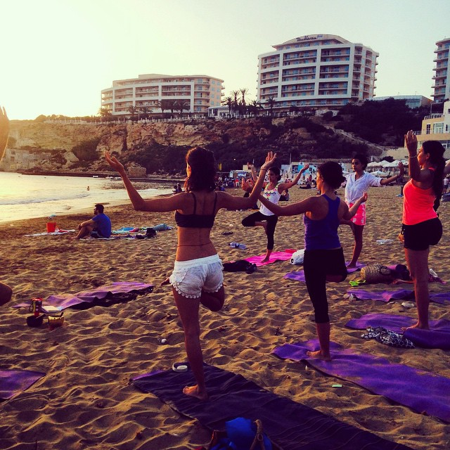 The LahLah 1st anniversary class at Golden Bay. Thank you to all those who joined!