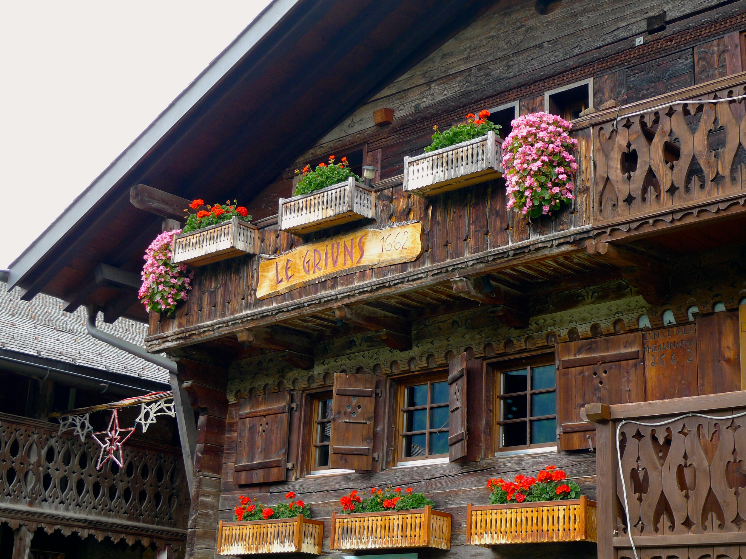 One of the oldest chalets around