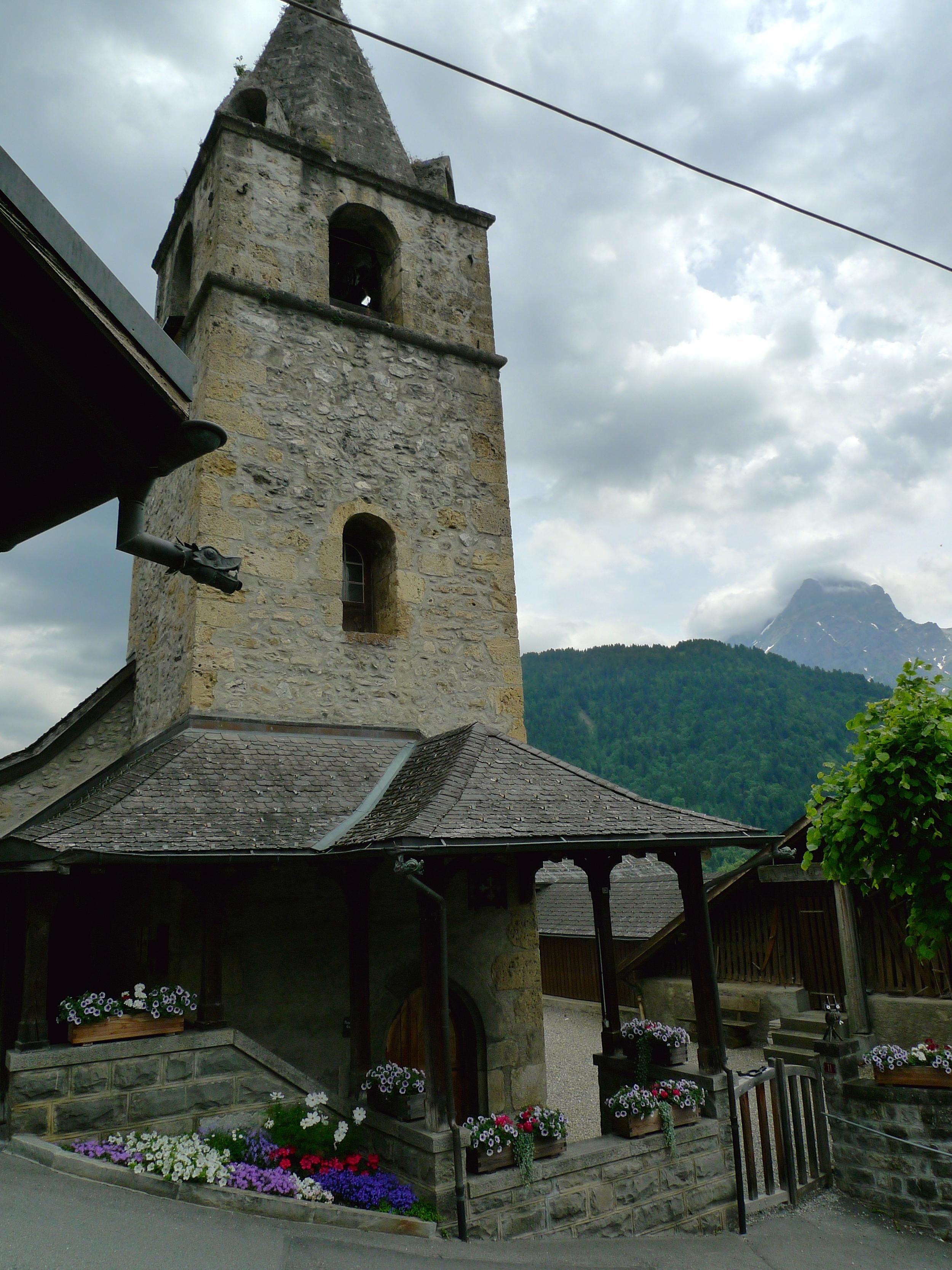 A small village church