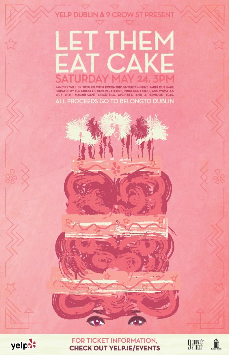 Let them eat cake logo