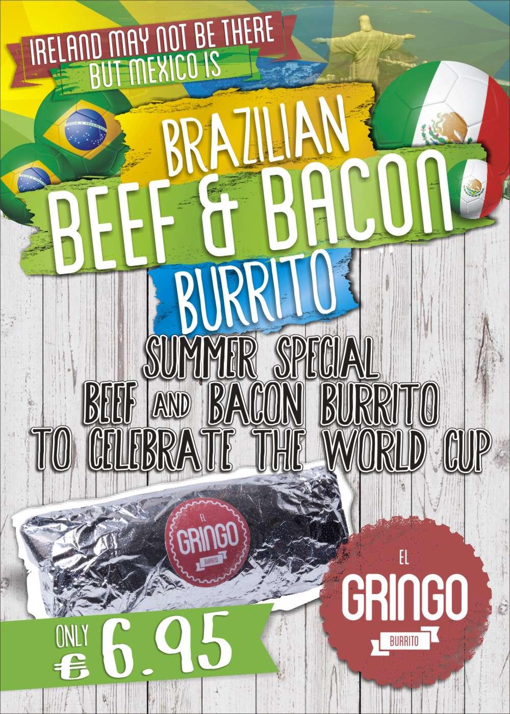 Brazilian Beef & Bacon Special