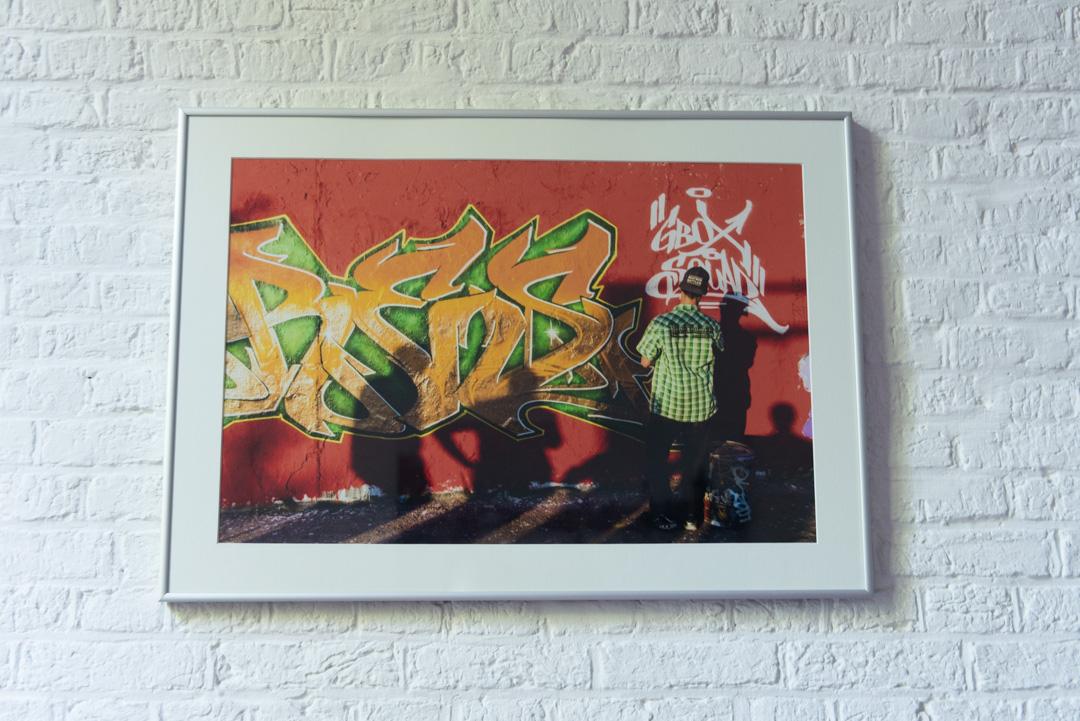Graffiti artist - 250 €