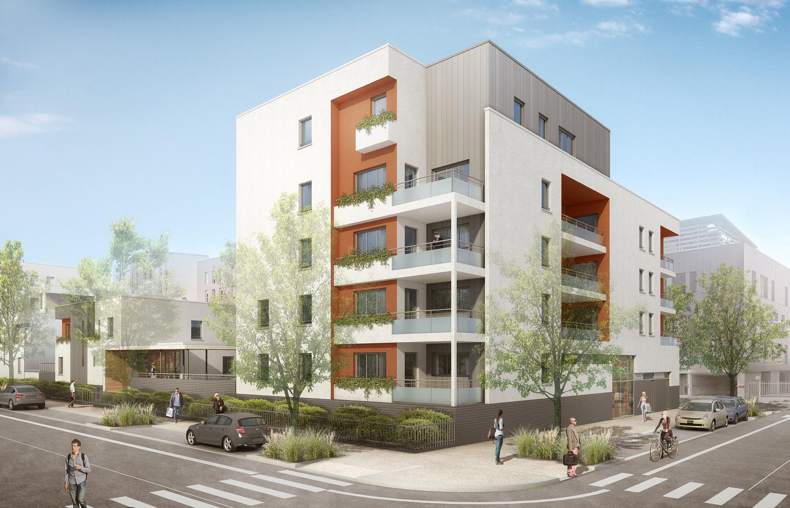 Projet de logements îlot D