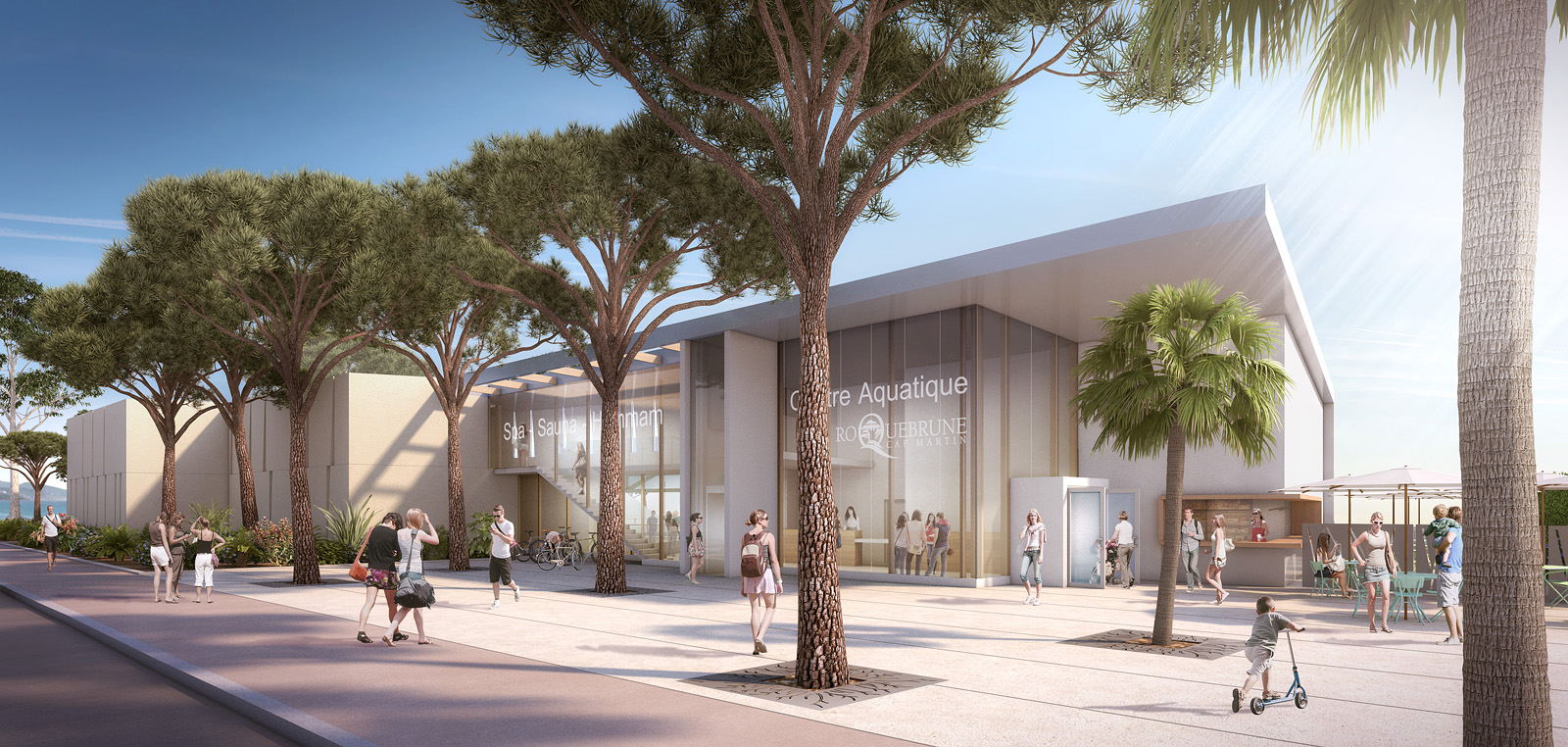 Nouvelle piscine municipale de Roquebrune-Cap-Martin