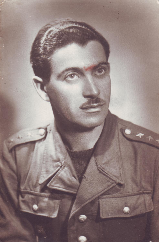 Captain Roman Yagel. 1951