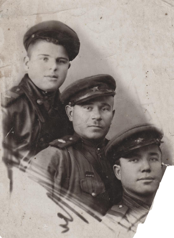 Sverdlov, first from right. December 25, 1944