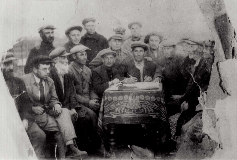 Jewish collective farm at Khersonshchina, Uraine. 1935.