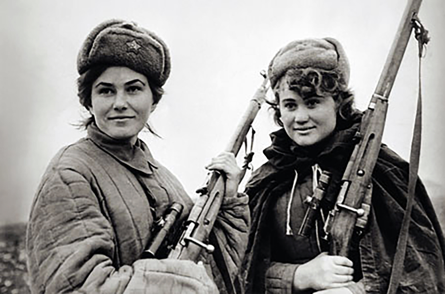 Partisan fighters. Photographer unknown.