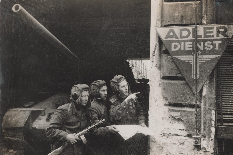 Storming of Berlin. Family archive Naum Secunda.