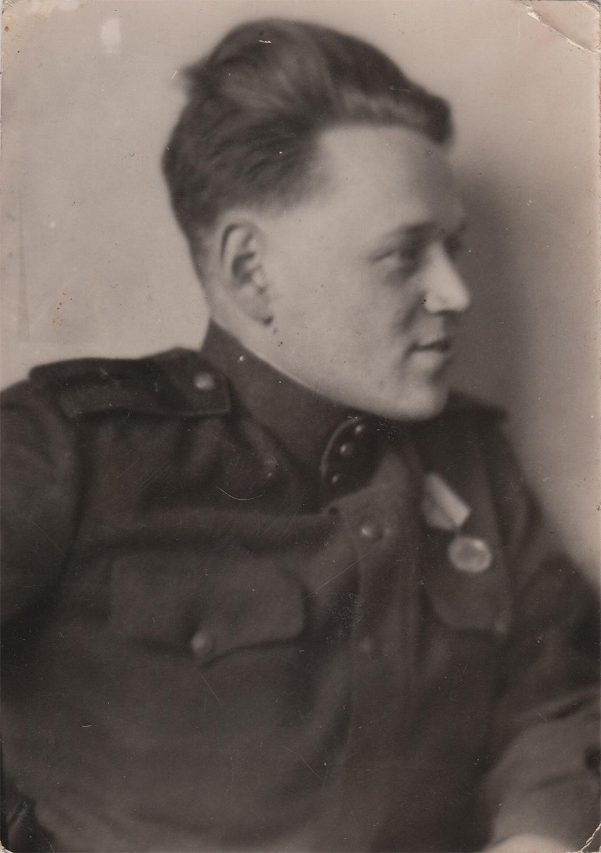 Gregory Fein. Hungary, 1945
