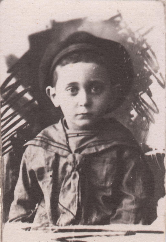 Four-year-old Yuliy Pinsky. Kyiv, Ukraine, 1927