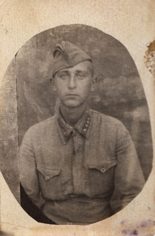 Cadet Yuliy Pinsky, 1941