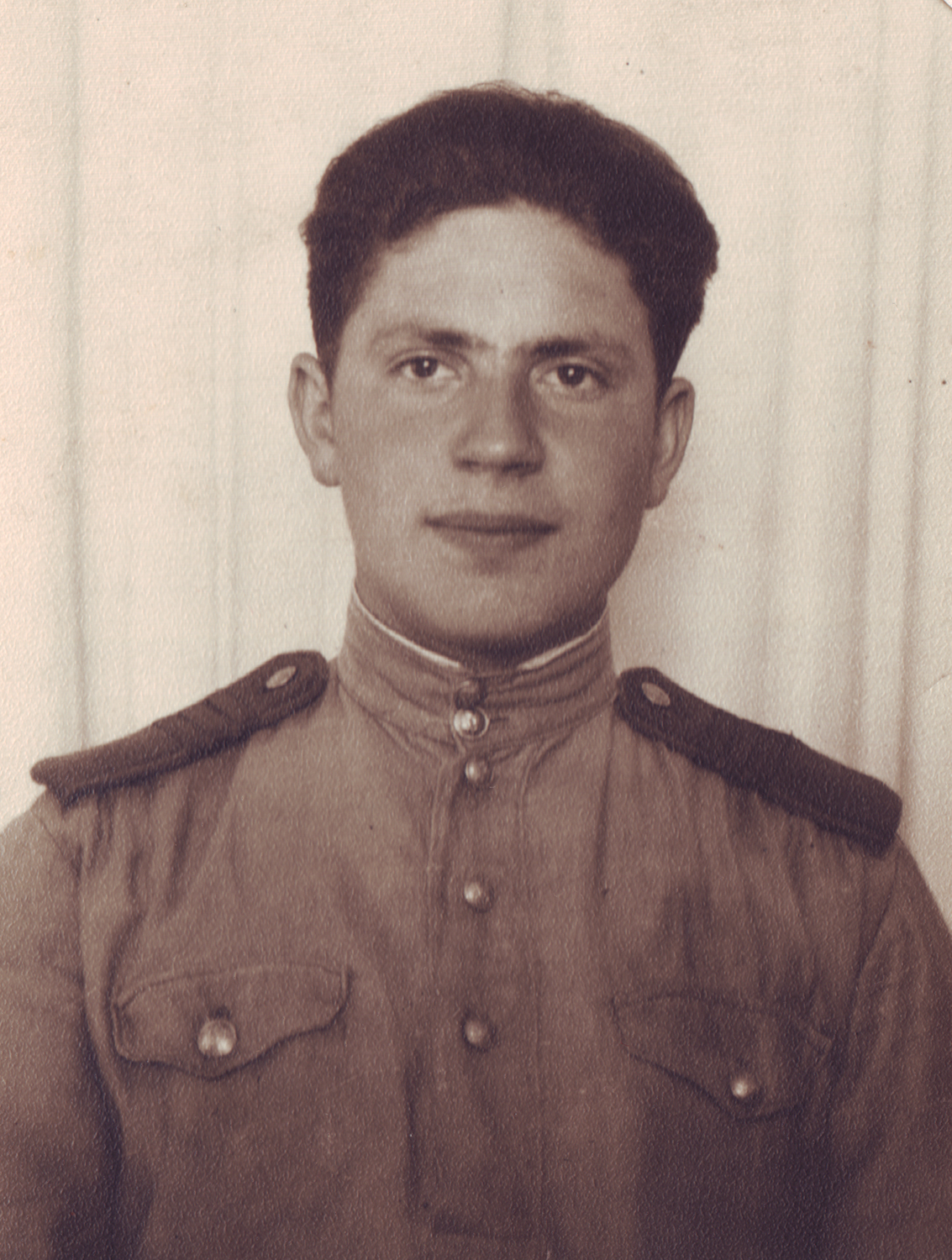 Vladimir in Gabert, Germany, where he celebrated Victory Day, 1945