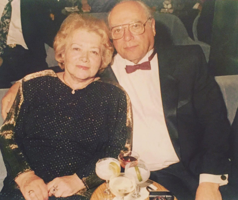 Samson and Anna Koltunov on vacation, 2007