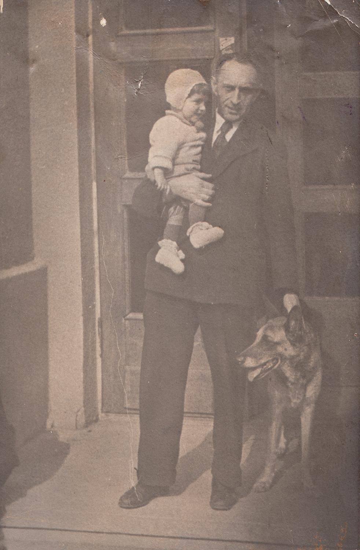 Evsey Epshtein's father, Semyon, 1939