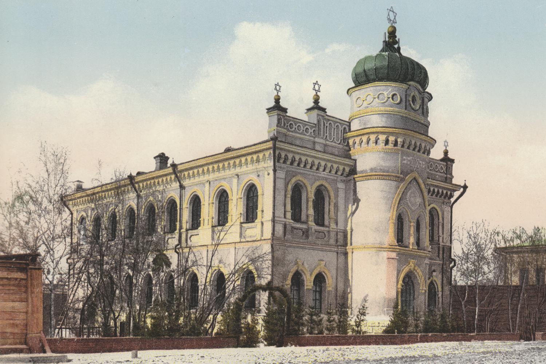 Jewish Synagogue on Magistral St., Tomsk