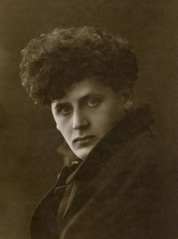 Studio Portrait of Peretz Markish, 1917-1918