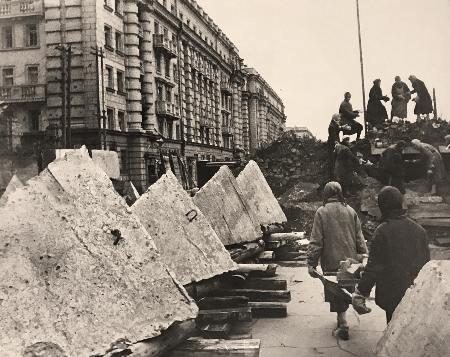 Boris Kudoyarov's photo of Leningrad under Siege during WWII