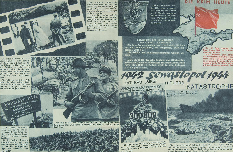 """Front-Illustrierte,"" No. 8 (81), May 1944"